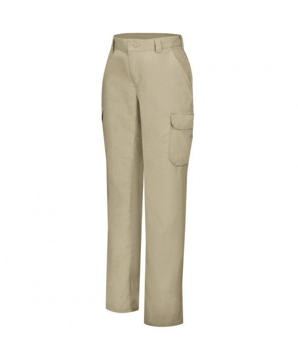 Wrangler Workwear WP81KH Womens Functional Cargo Work Pant - Khaki
