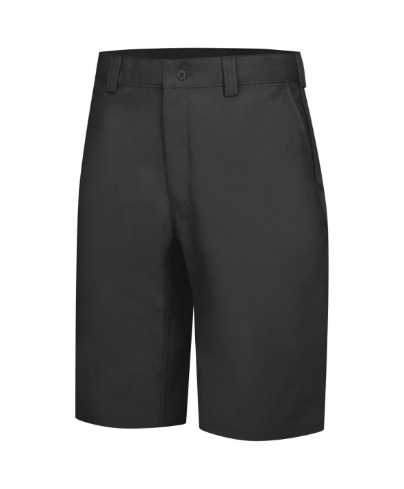 Wrangler Workwear WP92BK Plain Front Work Short - Black