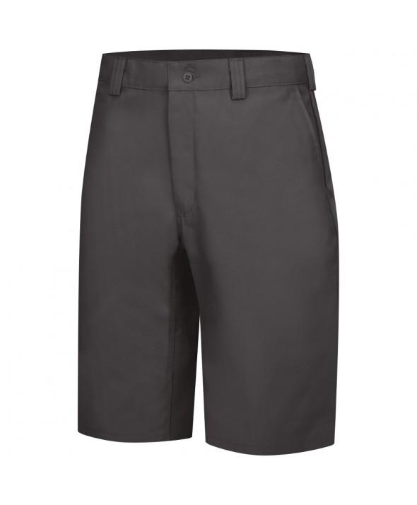 Wrangler Workwear WP92CH Plain Front Work Short - Charcoal