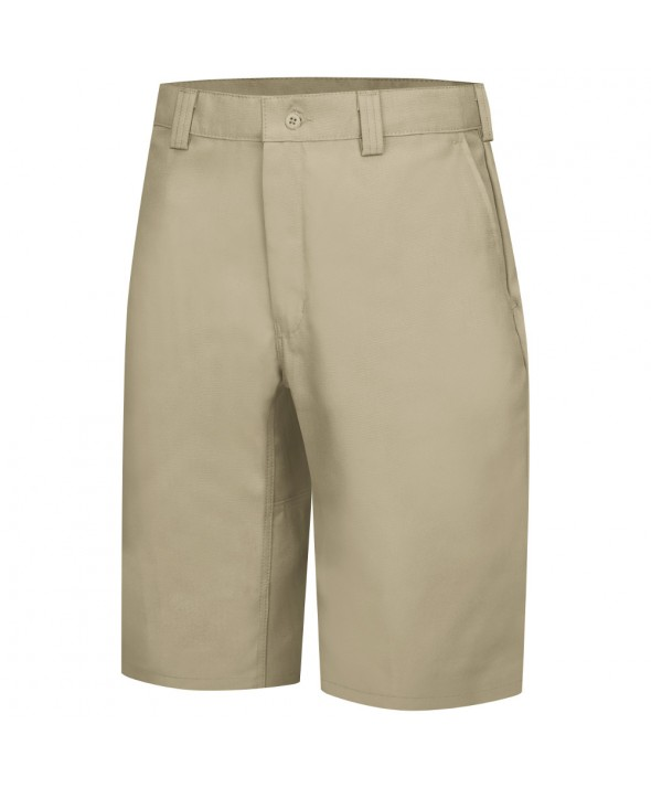 Wrangler Workwear WP92KH Plain Front Work Short - Khaki