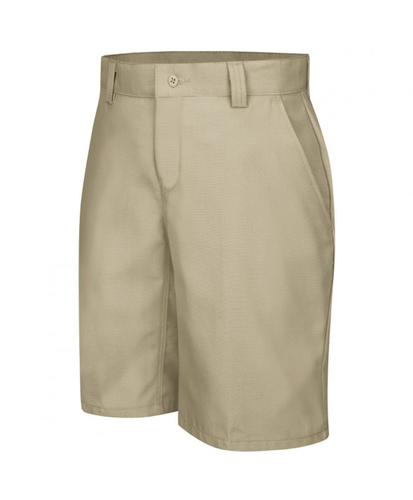 Wrangler Workwear WP93KH Womens Plain Front Work Short - Khaki