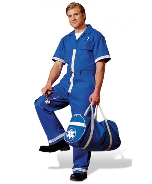 Topps JS01 Public Safety Garments Short Sleeve Jumpsuits